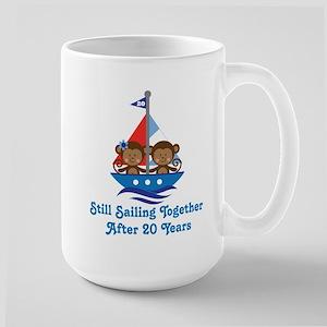 20th Anniversary Sailing Mugs