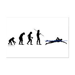 Swim Evolution Posters