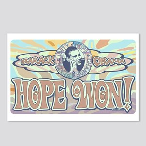 Obama Hope Won Postcards (Package of 8)