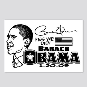 Obama Yes We Did Comic Postcards (Package of 8)