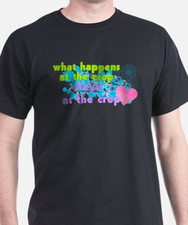 What Happens At The Crop T-Shirt