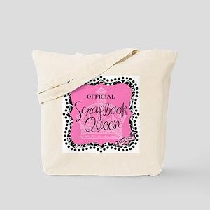 Official Scrapbook Queen Tote Bag