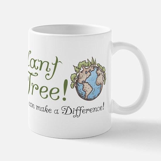 Plant a Tree Cow Mug