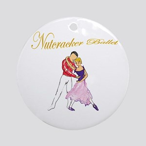 Nutcracker romance Ornament (Round)
