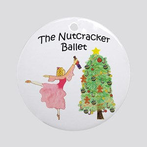 magical clara,nutcracker Ornament (Round)