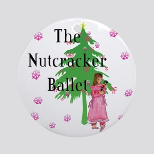 Clara, Nutcracker ballet Ornament (Round)
