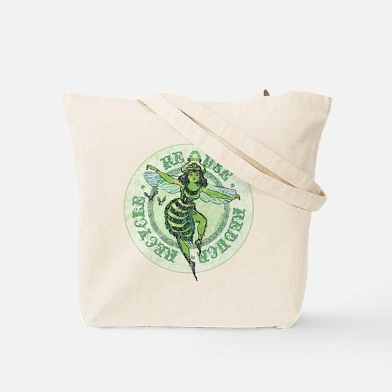 Enviro Green Bee Tote Bag