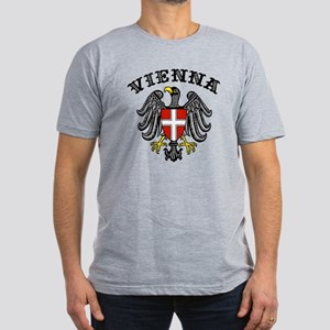 Vienna Austria Men's Fitted T-Shirt (dark)