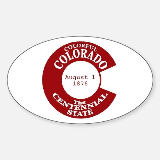 Colorado Oval Decal