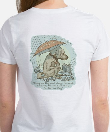 Rescue Dog Quote Women's T-Shirt