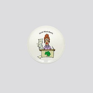Social Work Month Desk Mini Button