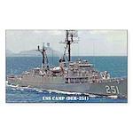 USS CAMP Rectangle Sticker 50 pk)