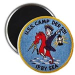 """USS CAMP 2.25"""" Magnet (10 pack)"""