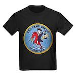 USS CAMP Kids Dark T-Shirt