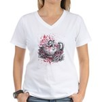 Dormouse Women's V-Neck T-Shirt