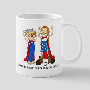 Superhero (Boy and Girl) Mug