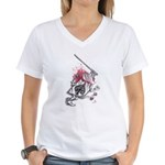 Ace of Spades Women's V-Neck T-Shirt