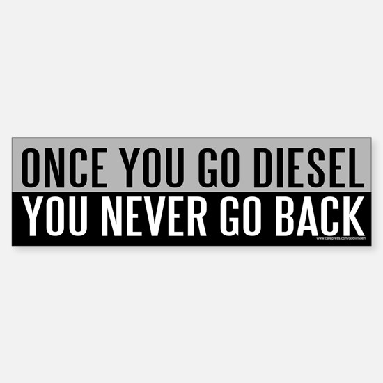 Once You Go Diesel (sticker)