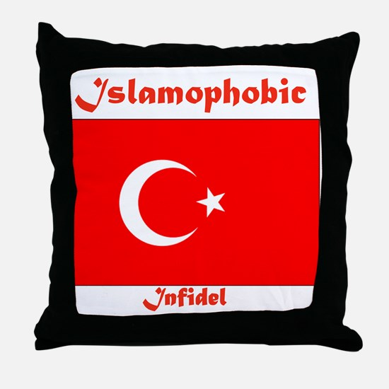 THE RELIGION OF PEACE Throw Pillow