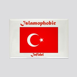THE RELIGION OF PEACE Rectangle Magnet