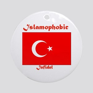 THE RELIGION OF PEACE Ornament (Round)
