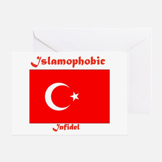 THE RELIGION OF PEACE Greeting Card