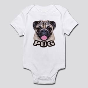 Pug - Color Infant Bodysuit