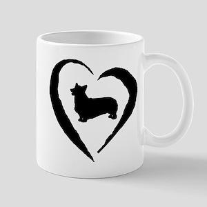 Pembroke Heart Mug