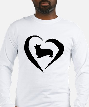 Pembroke Heart Long Sleeve T-Shirt