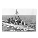 USS CAPERTON Postcards (Package of 8)