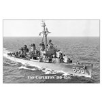 USS CAPERTON Large Poster