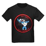 USS CAPERTON Kids Dark T-Shirt