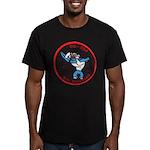 USS CAPERTON Men's Fitted T-Shirt (dark)
