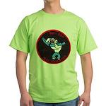 USS CAPERTON Green T-Shirt