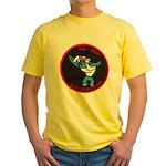 USS CAPERTON Yellow T-Shirt