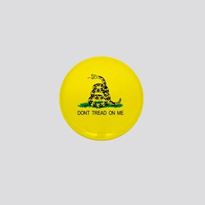 Tea Party Gadsden Patriotic Mini Button