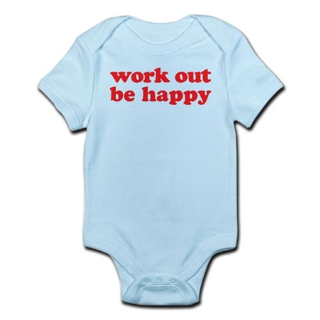 Work Out Infant Bodysuit