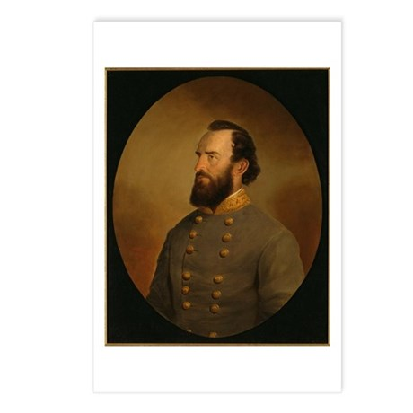 Stonewall Jackson Postcards (Package of 8)