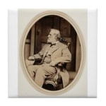 Robert E. Lee Tile Coaster