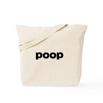Poop Tote Bag