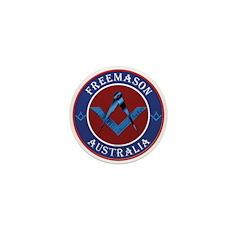 Australian Masons Mini Button (10 pack)