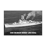 USS CHARLES BERRY Mini Poster Print