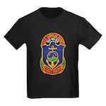 USS CHARLES BERRY Kids Dark T-Shirt