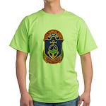 USS CHARLES BERRY Green T-Shirt
