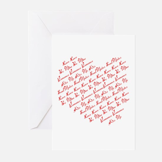 Heart Phrases Greeting Cards (Pk of 10)