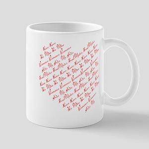 Heart Phrases Mug