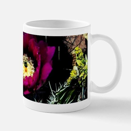 Barrel Cactus Flower Mug