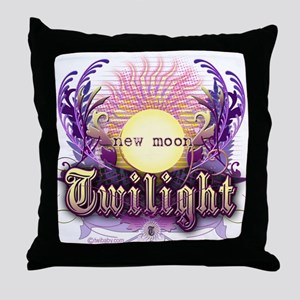 Twilight New Moon Violet Intrigue Throw Pillow