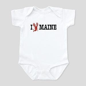 I Love Maine Infant Creeper