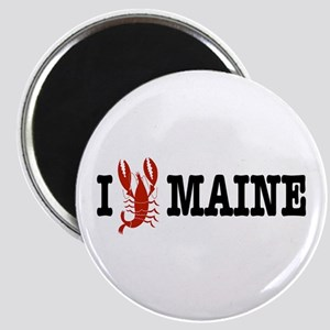 I Love Maine Magnet